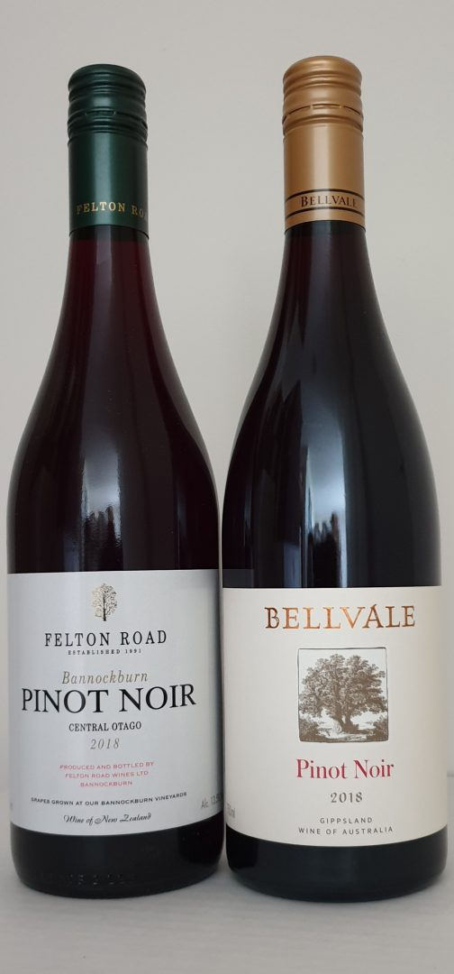 2018 Felton Road Bannockburn $70 & 2018 Bellvale Estate $25