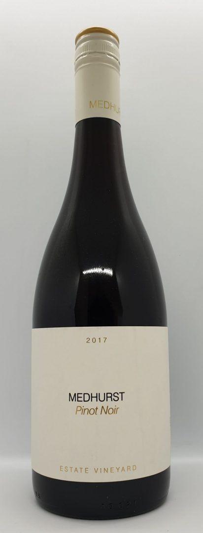 2 x bottles 2017 Medhurst Estate Pinot Noir $88