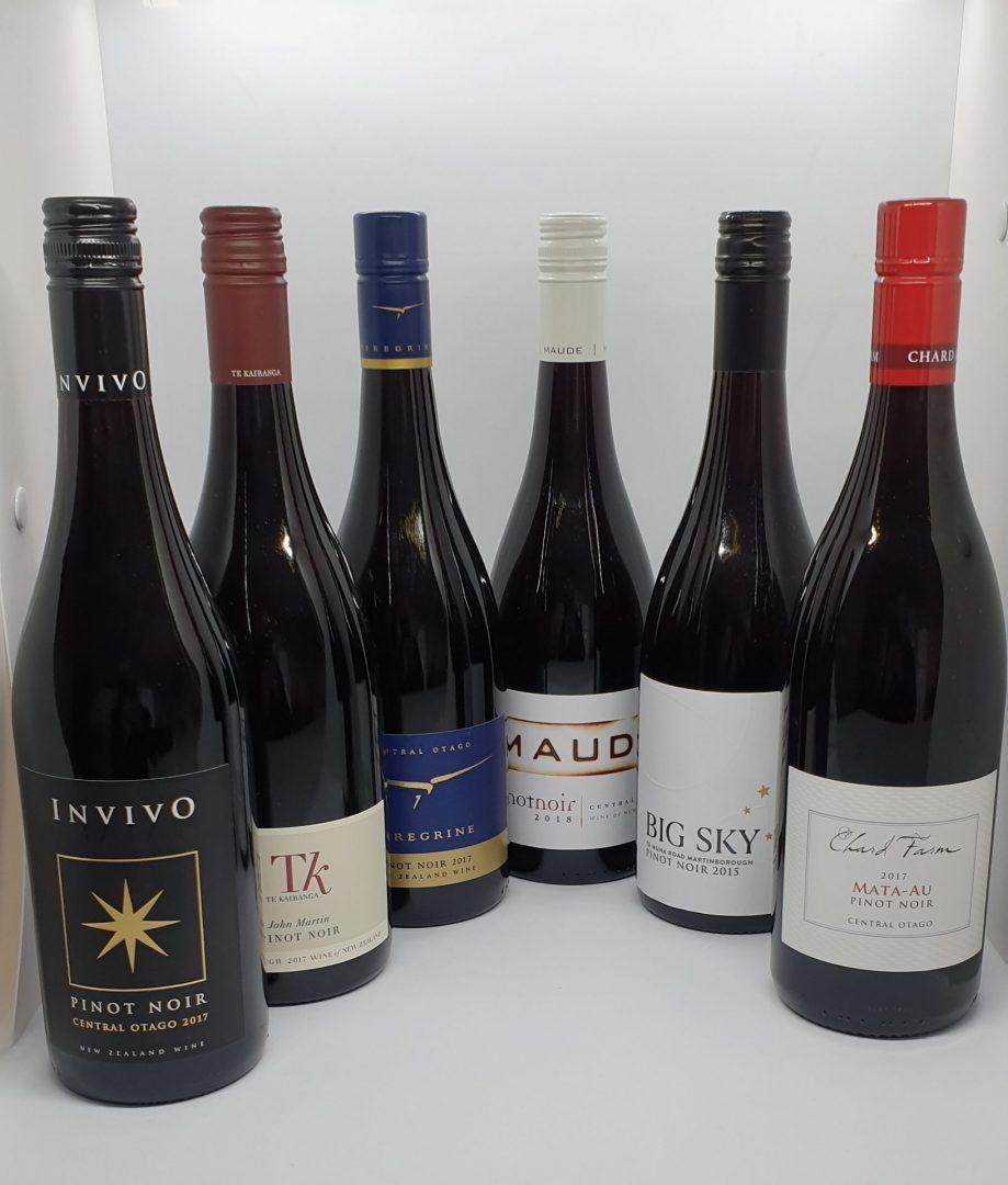 New Zealand Pinot Noir 6 Pack $278.00