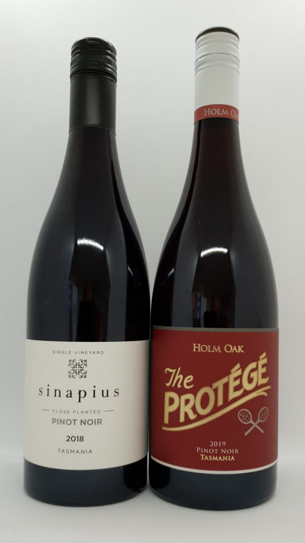 December 2020 Releases: Sinapius Close Planted 2018 Pinot Noir $55 & Holm Oak The Protege 2019 Pinot Noir $25
